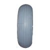 Tyre & Tube (2.80/2.50-4) Pneumatic Front/Rear Grey